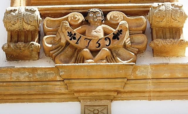 Detalhe do anjo do Convento dos Franciscanos